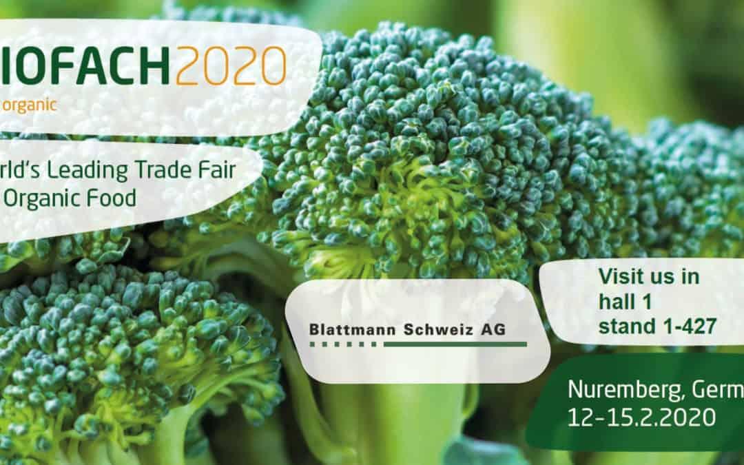Blattmann auf der Biofach 2020 in Nürnberg